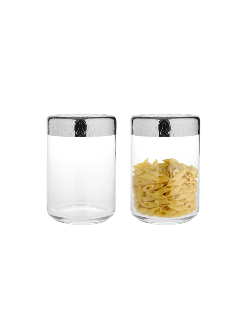 ALESSI Kitchen boxes, Biscuit boxes and containers MW21-100 Dressed