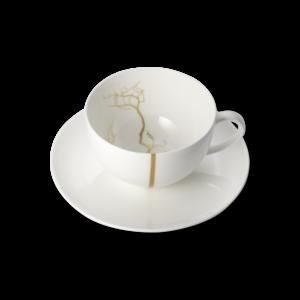 DIBBERN Golden Forest Set Cafe au lait cup (0,32l)