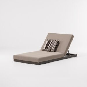 KETTAL Lounger simple with 5-position backres 946212