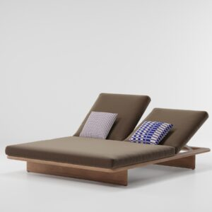 KETTAL Two-place deck chair 17610