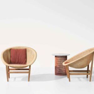 Kettal Indoor Basket armchair 10200-905c