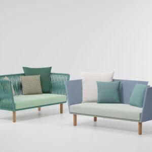 KETTAL 2-Seater sofa wood legs 70450 70450