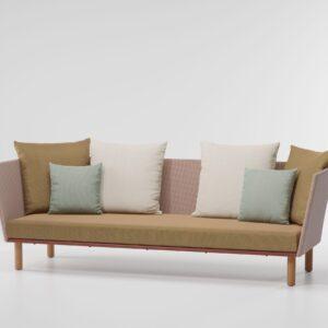 KETTAL 3-Seater sofa parallel teak leg 70460 87T 00