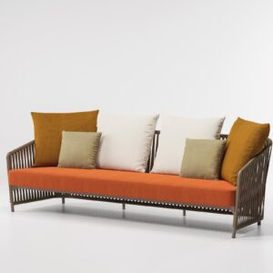 KETTAL 3-Seater sofa rope 70460 40A 01