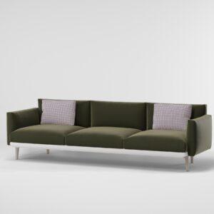 KETTAL 3 Seater sofa standard legs 25050 s