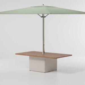 Kettal Meteo Umbrella center table 36972