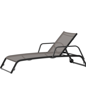 KETTAL - TRICONFORT Duo Deckchair, wheels and arms 81603